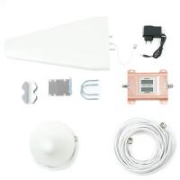 Усилитель сигнала Power Signal Standard 900/2100 MHz (для 2G, 3G) 70 dBi, кабель 15 м., комплект